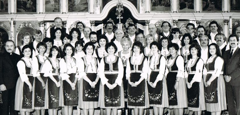 S.S.S. Ravanica Choir, Detroit Michigan